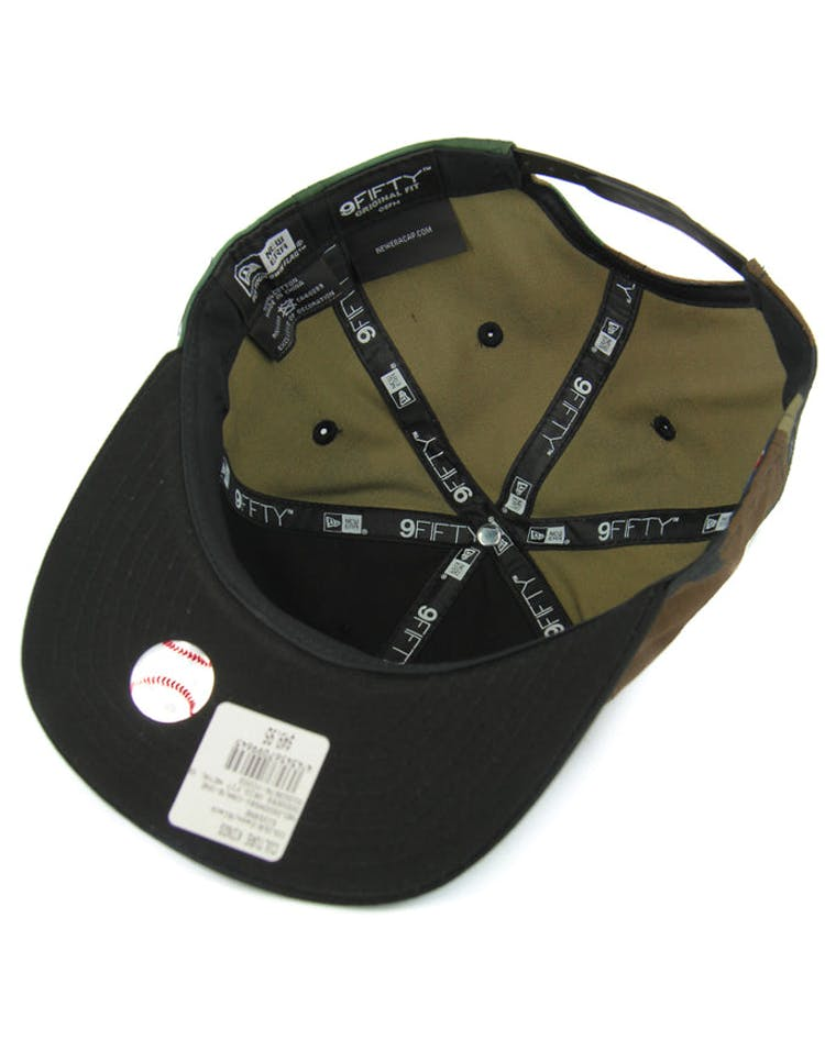 Dodgers Orig.fit Metal Snapback Camo/black