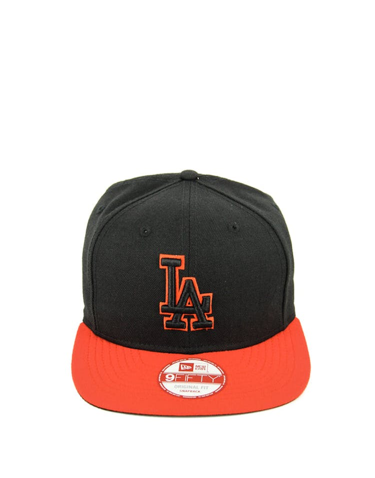 Dodgers Original Fit Snapback Black/red/red