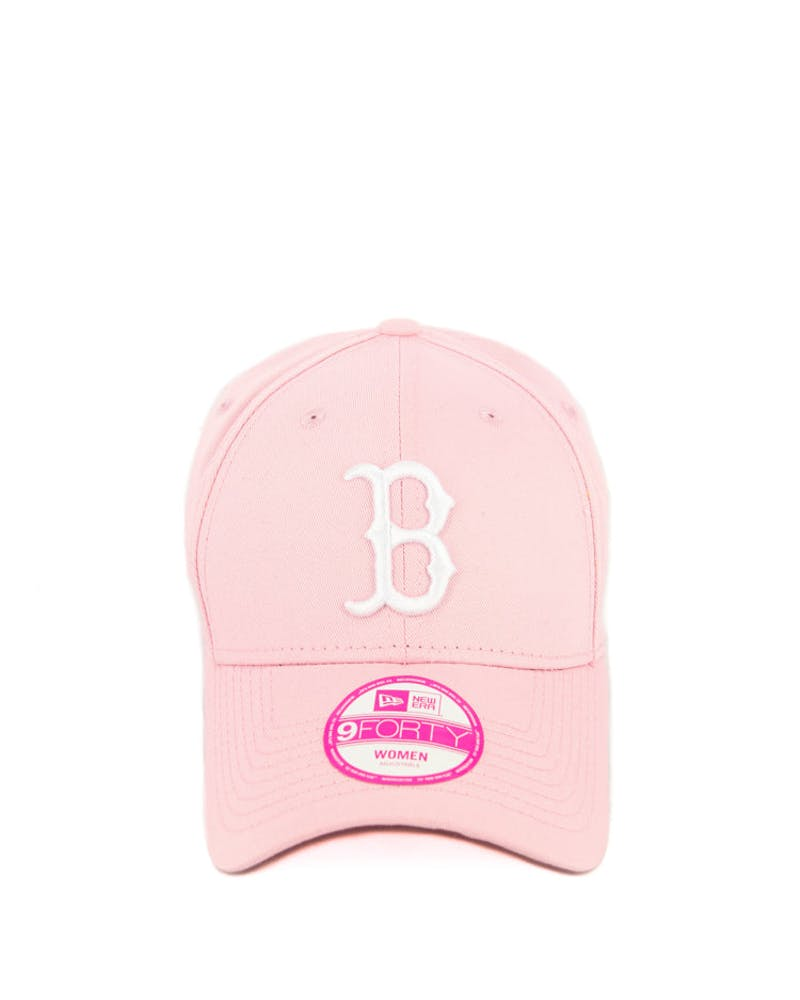New Era Women's Red Sox 9FORTY ST Pink