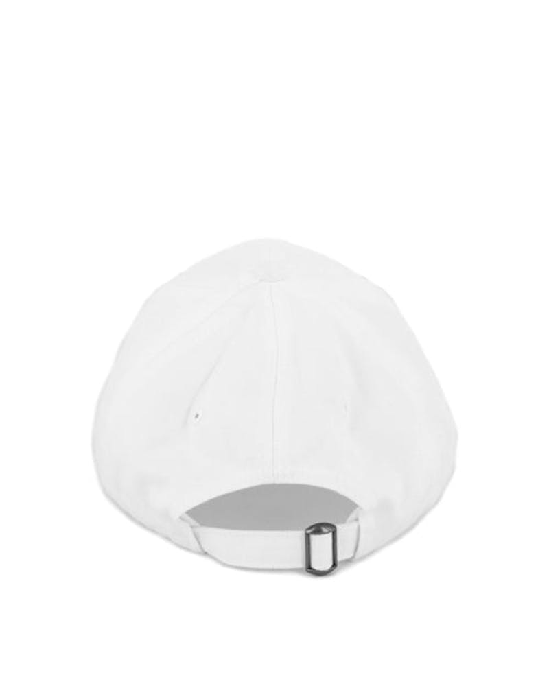 Rap Curved Strapback White