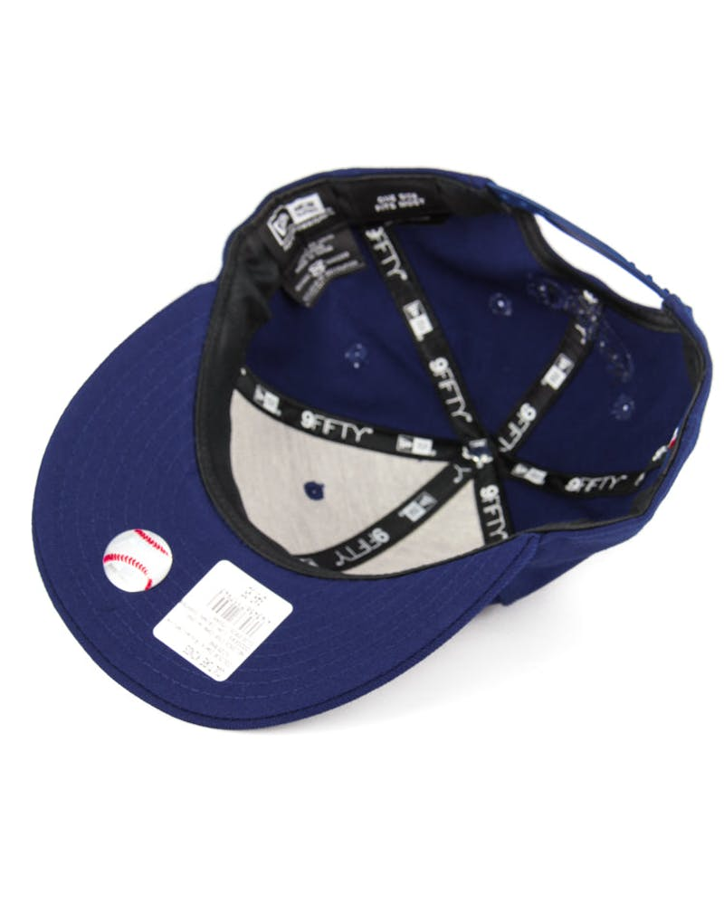 Dodgers Low Crown Snapback Dark Royal/whit