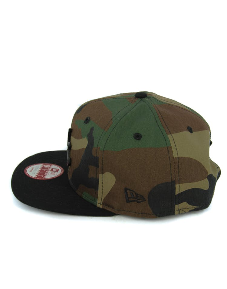 Braves Orig.fit Metal Snapback Camo/black