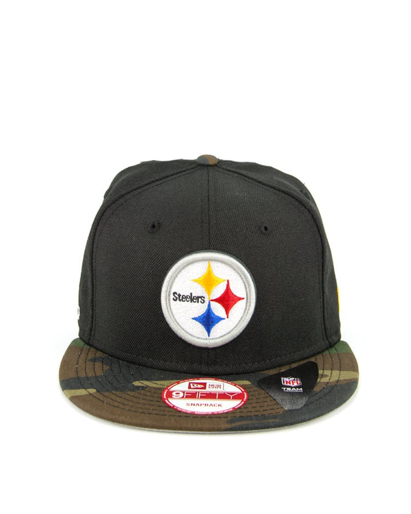 Pittsburgh Steelers Snapback Black/camo