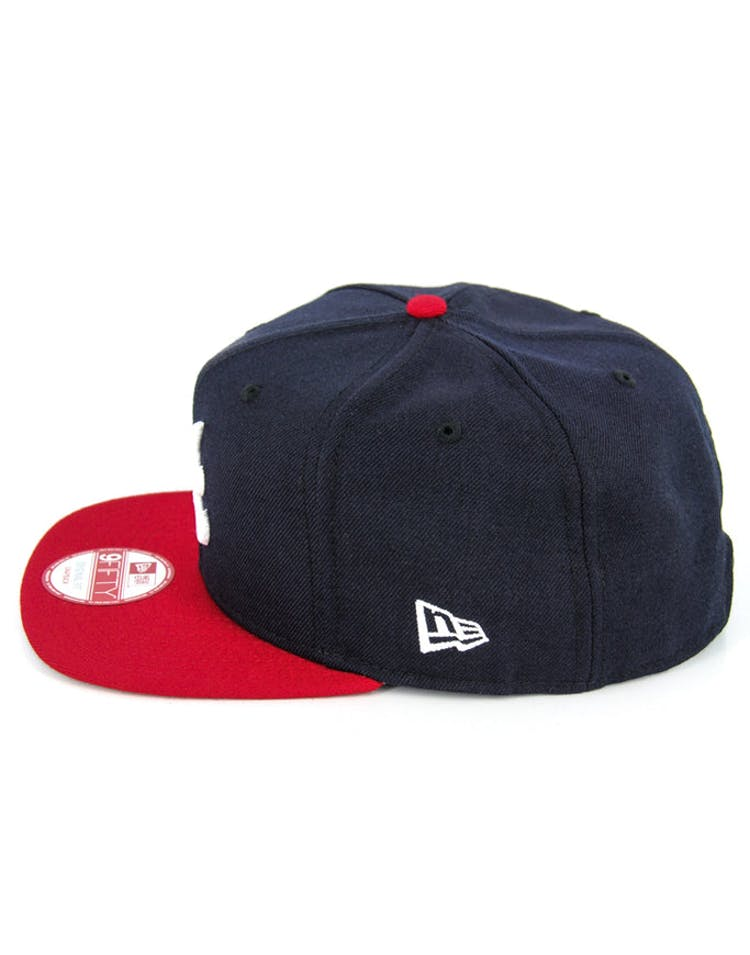 Braves Original Fit Snapback Navy/red/grey