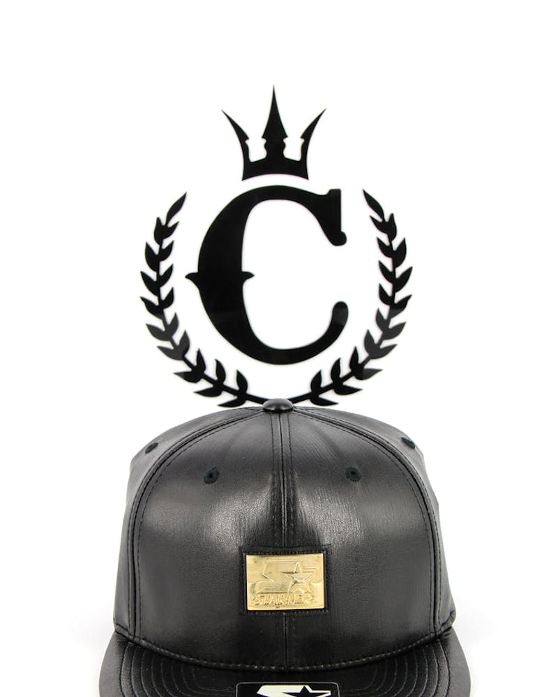 X Culture Kings Leather Black/gold