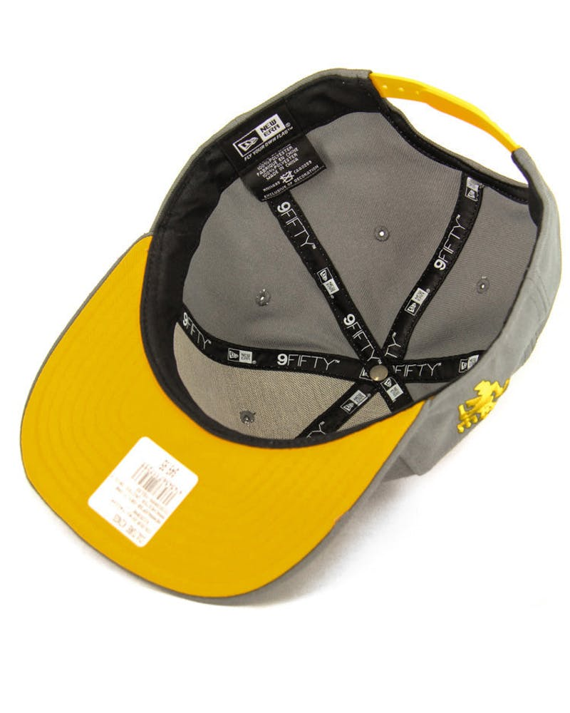 Manchester United Orig.fit Snapback Grey/yellow