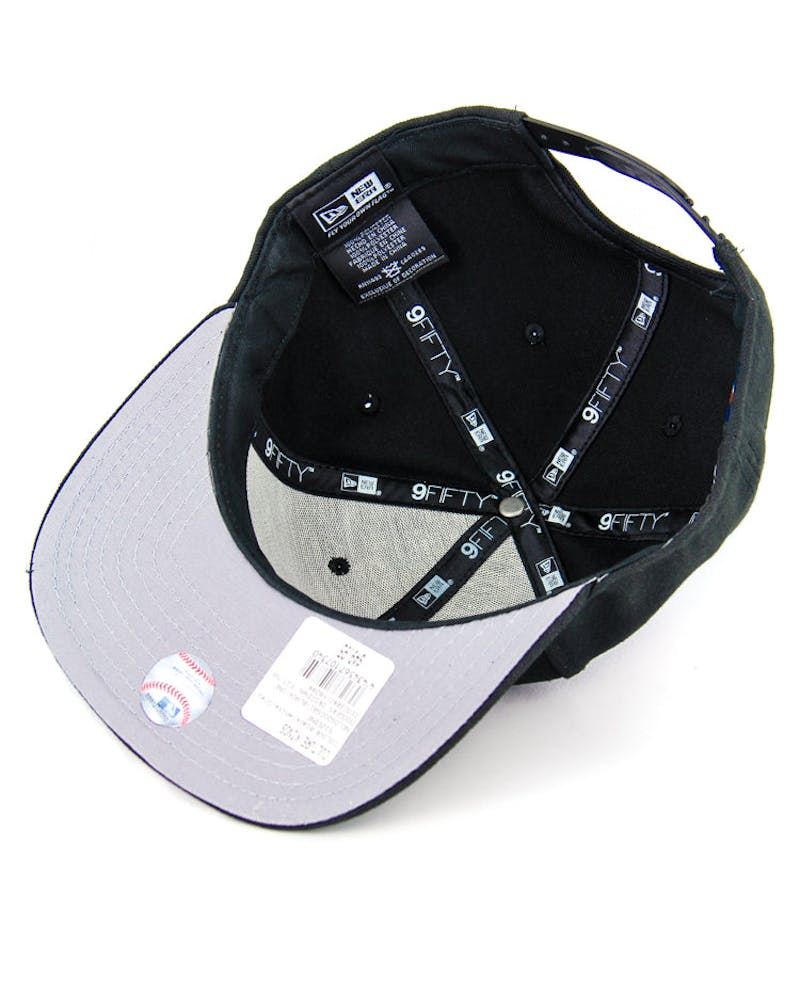 Dodgers Original Fit Snapback Black/white/gre