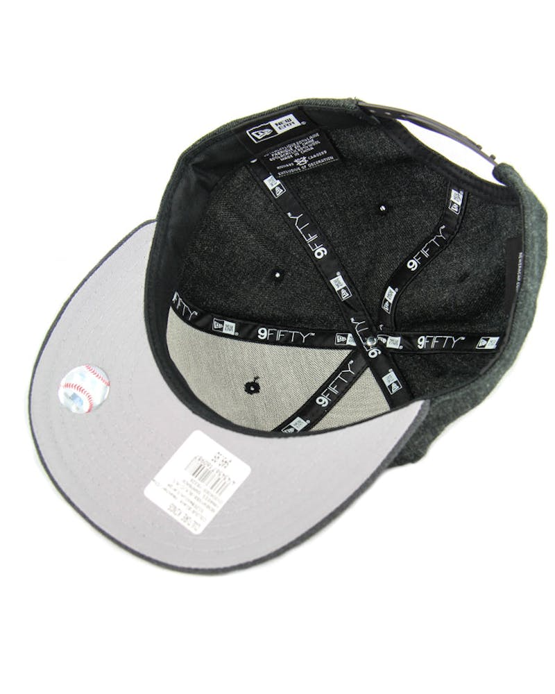 Kings Snapback Black Heather/c