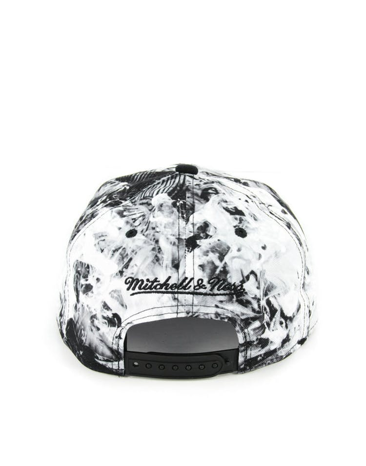 Bulls Exposed Snapback Black/white Flo