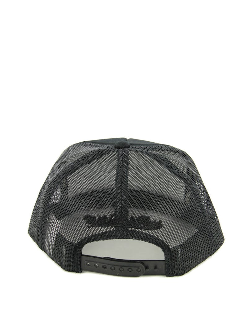 Kings Tonal D-m Trucker Snapback Black