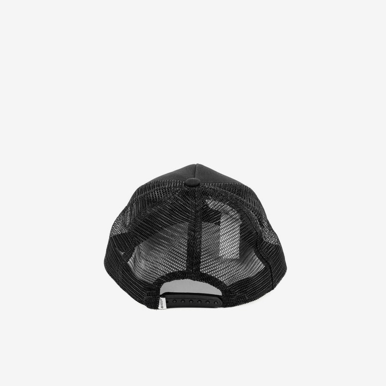 Women's Trefoil Trucker Black/white