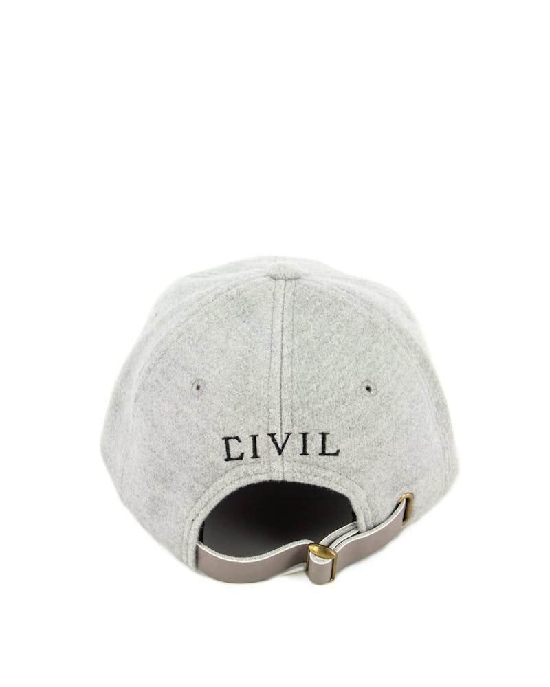 Wool Norm Core Hat Heather Grey