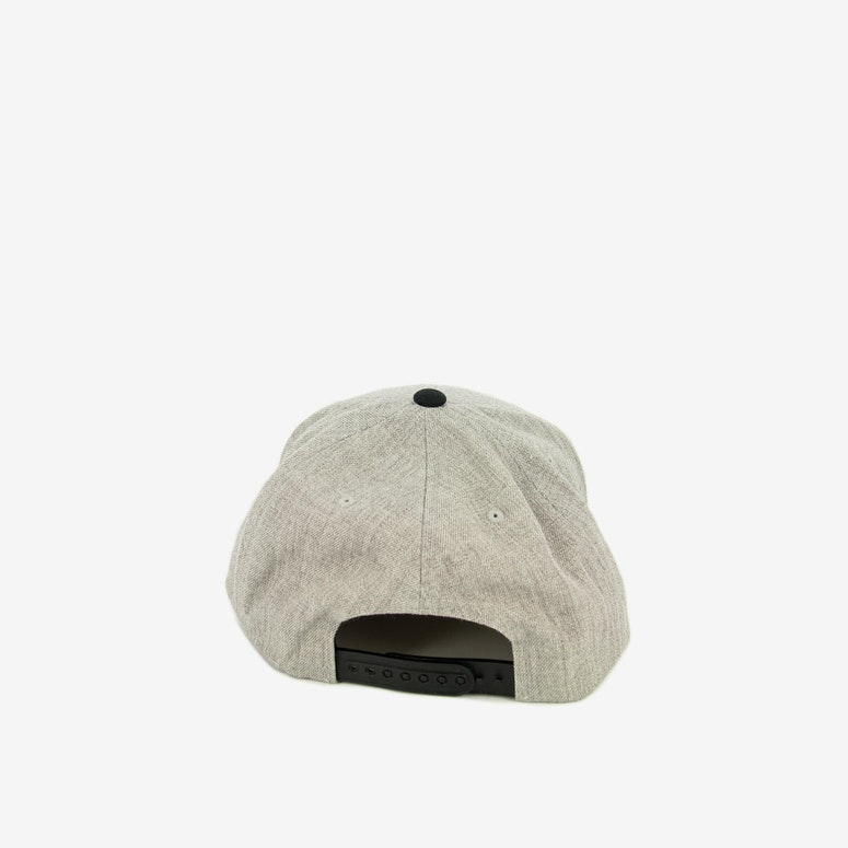Wheeler Snapback Light Grey/blac