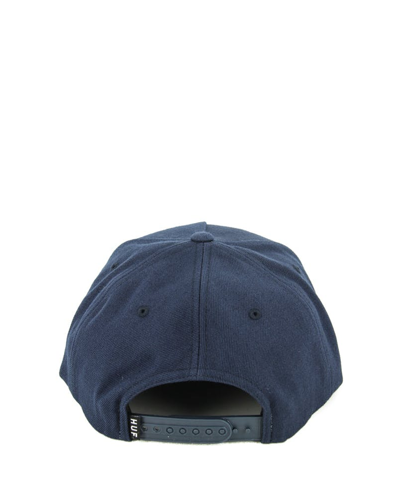 Box Logo Snapback Navy