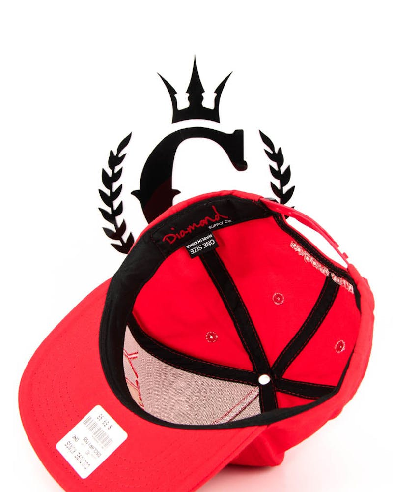 Clarity Snapback Red