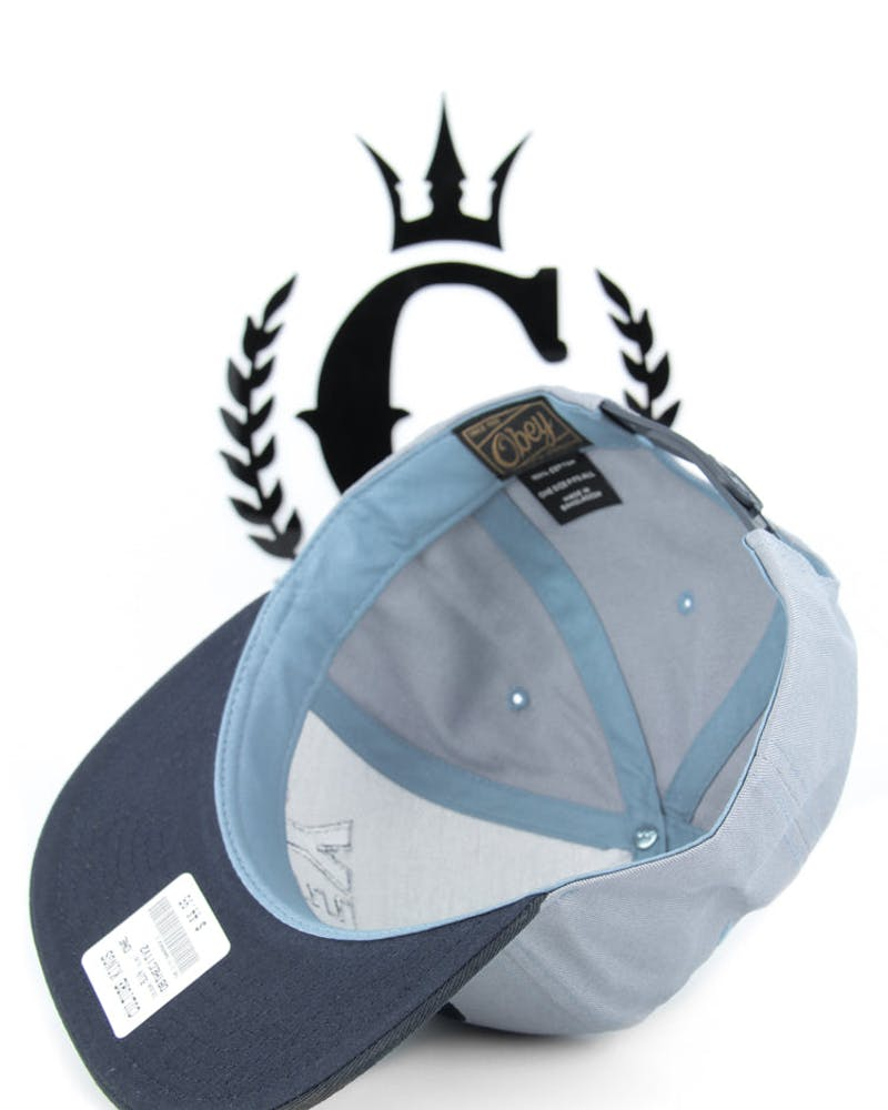 the City Snapback 2 Light Blue/navy