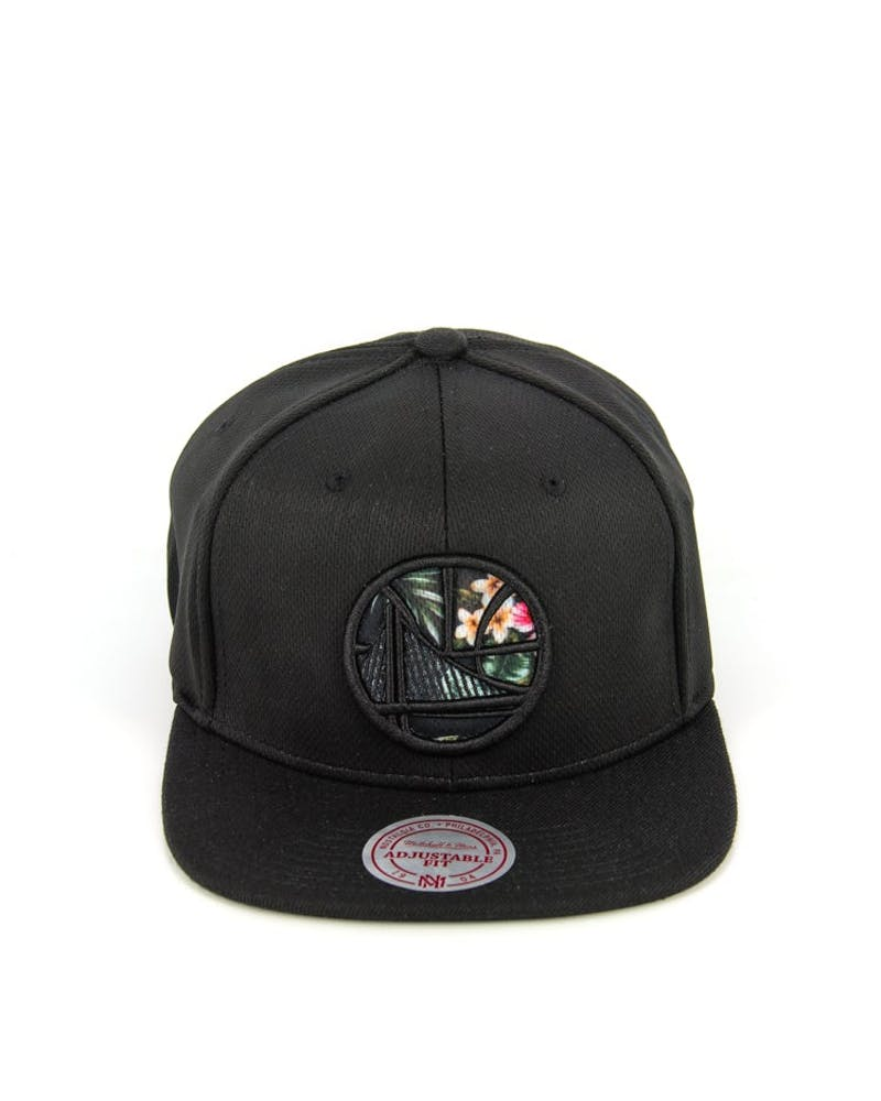 Warriors Floral Infill Snapback Black/floral