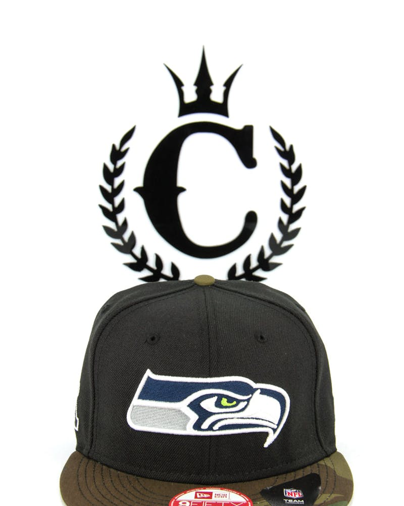 Seattle Seahawks Snapback Black/camo