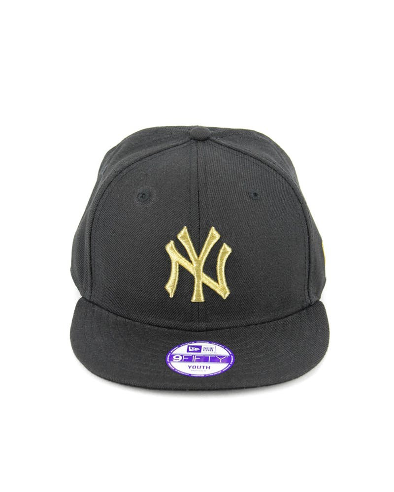 New York Yankees Youth Snapback Black/gold