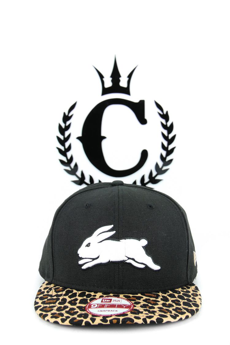 47 Brand South Sydney Rabbitohs MVP NRL Snapback Hat In Black