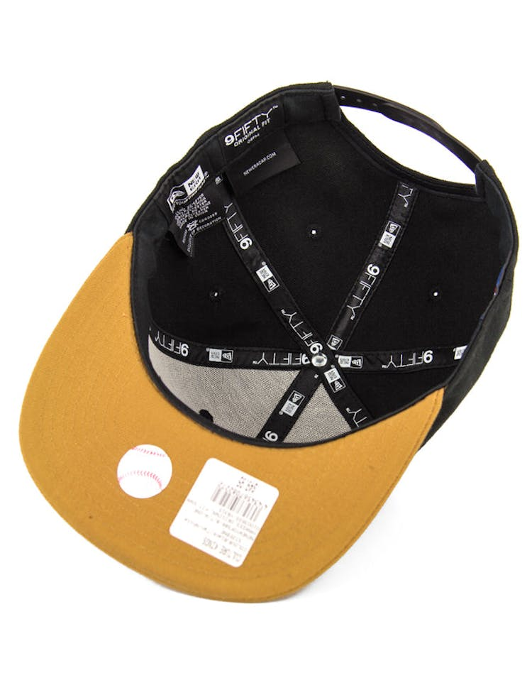 Red Sox Original Fit Snapback Black/tan/white
