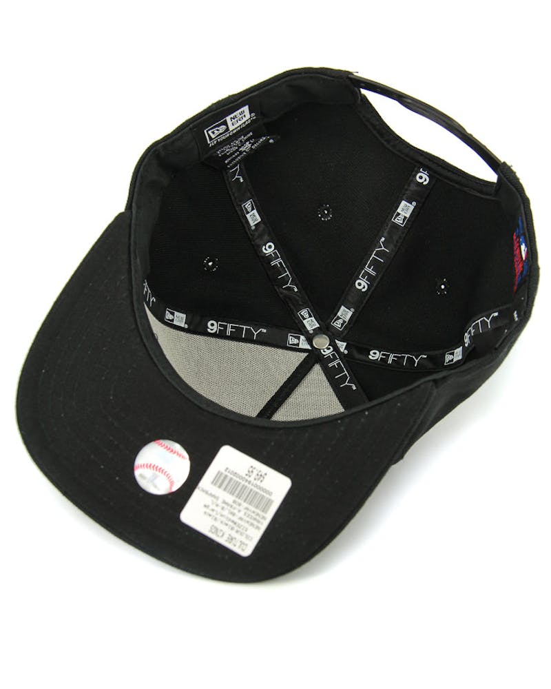 New Era Red Sox CK 940 A-Frame Snapback Black/black