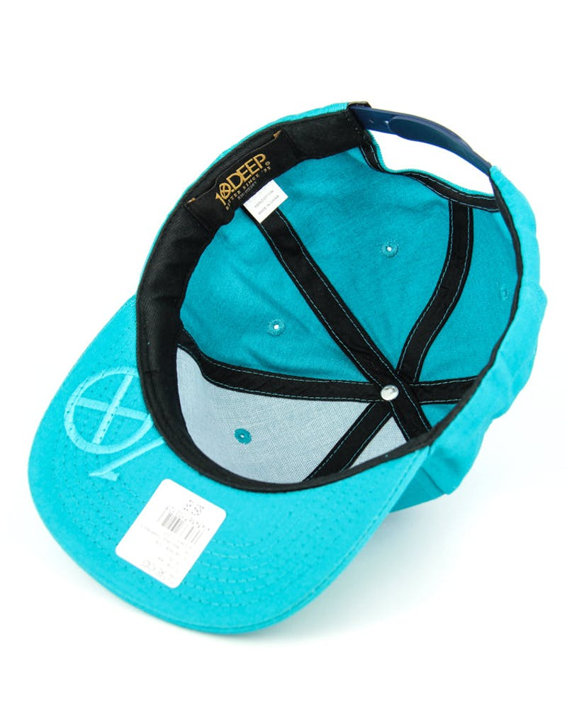 Sign Language Snapback Teal