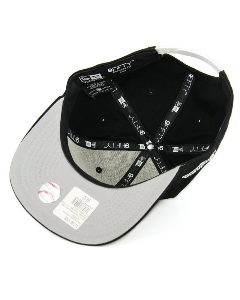 Dodgers Original Fit Snapback Black/white/whi