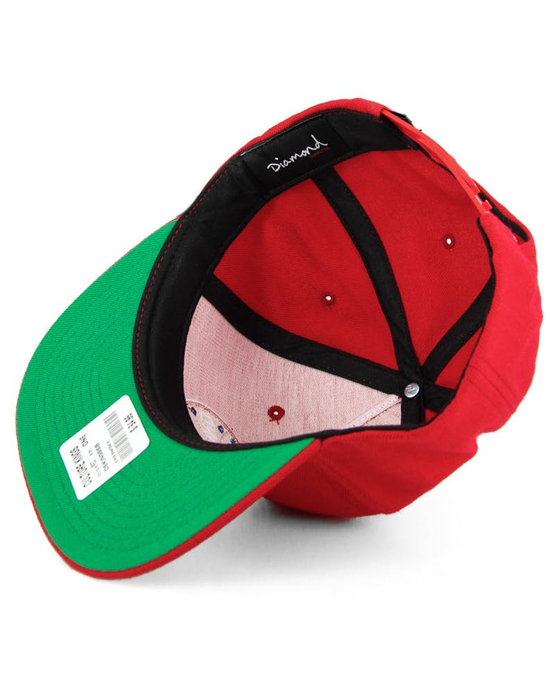 Kings Snapback Red