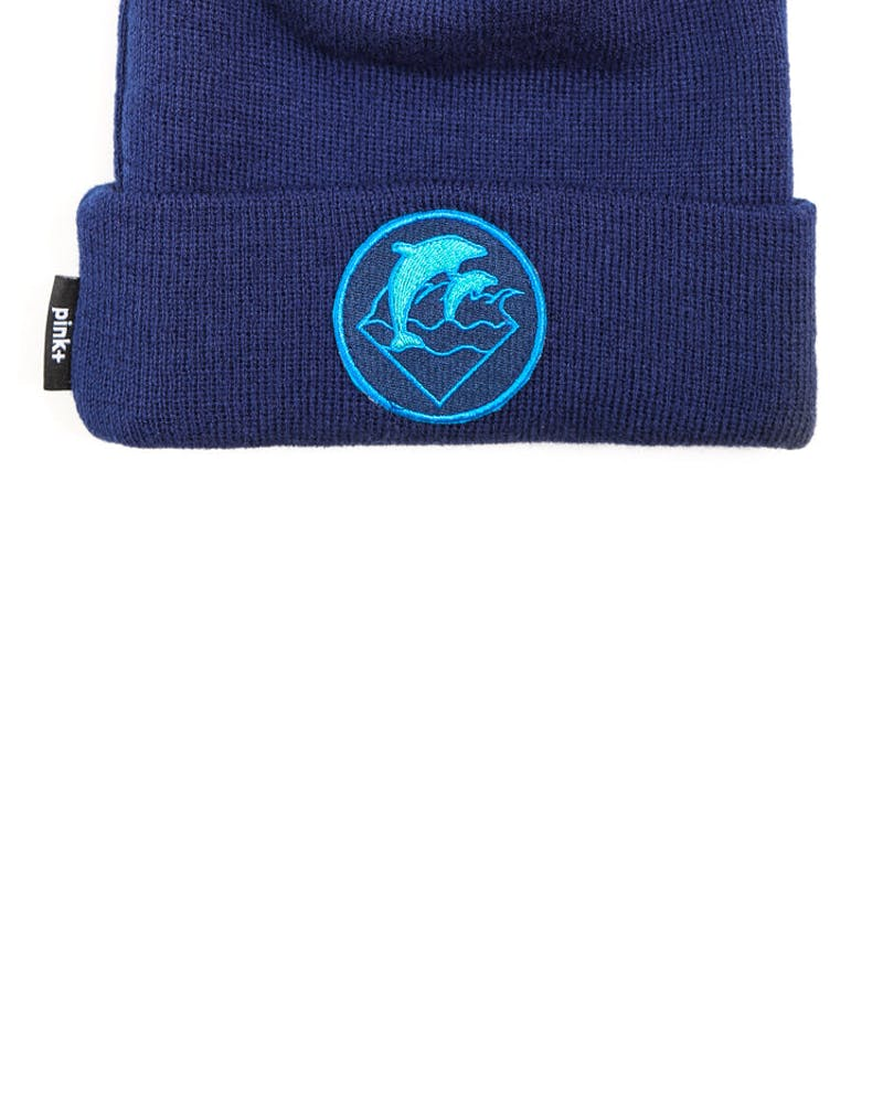 Waves Holiday 13 Beanie Navy