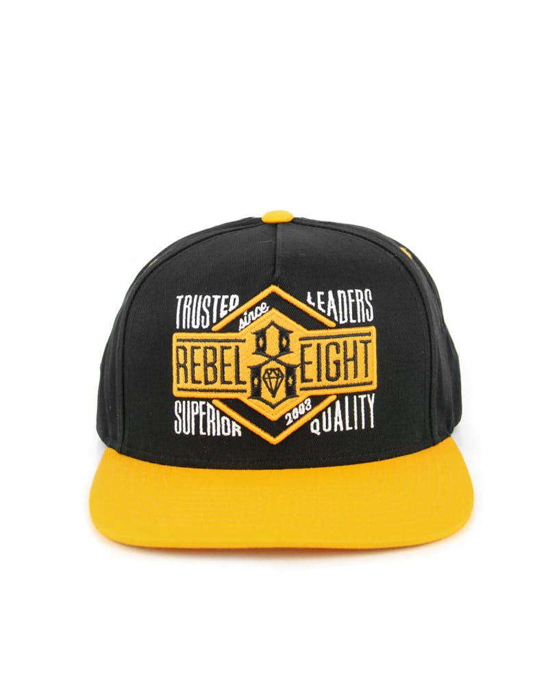 Trusted Leaders Snapback Black/yellow