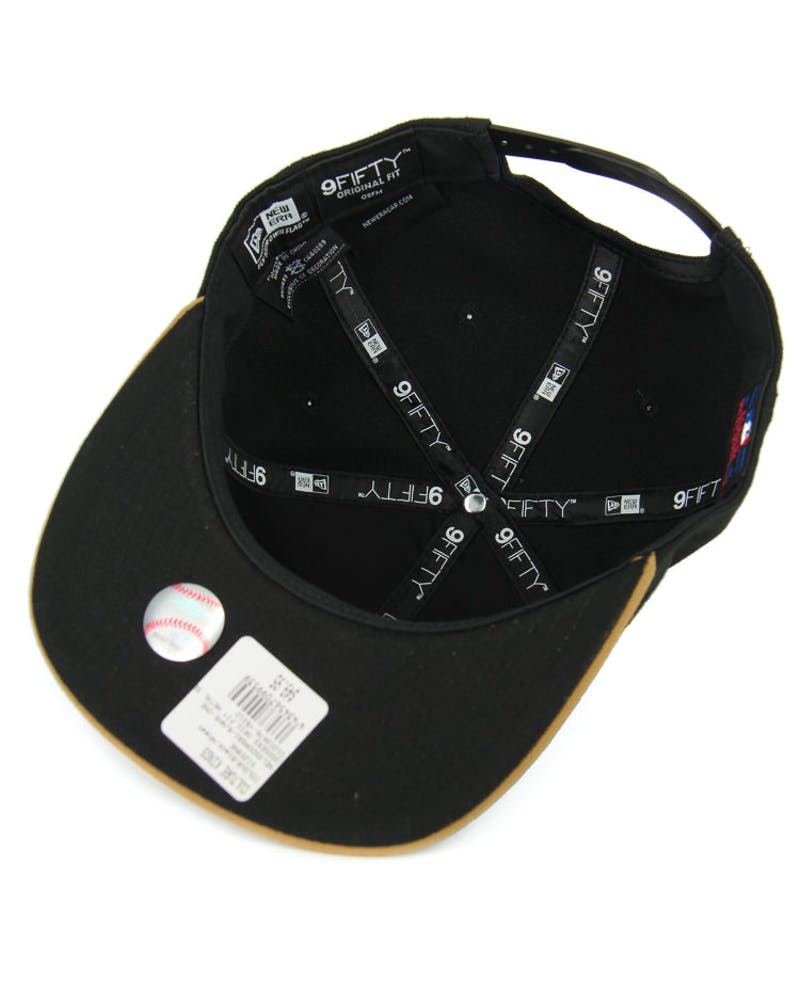 Braves Orig.fit Metal Snapback Black/wheat