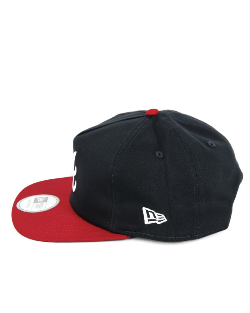 Braves Old Golfer Snapback Navy/red/white