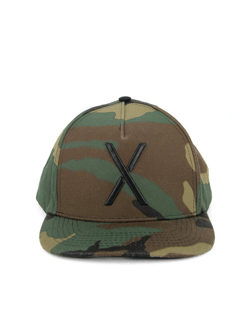F14 Larger Living Snapback Camo