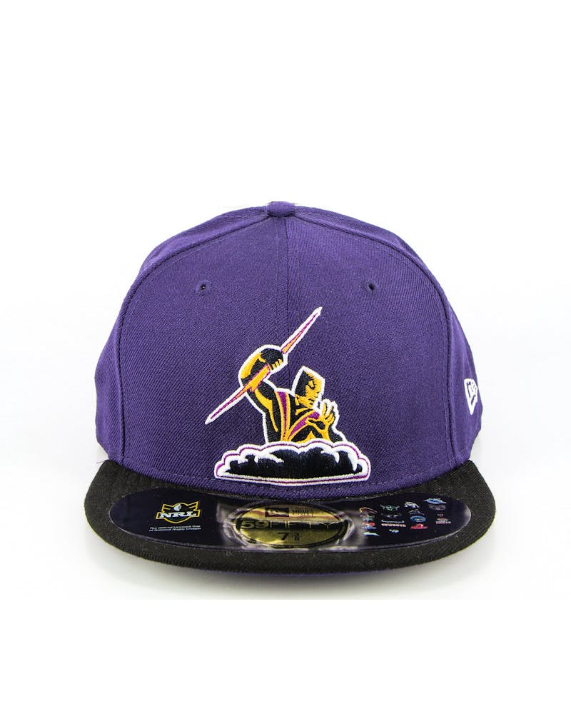 Melbourne Storm Fashion Fitted Purple/black