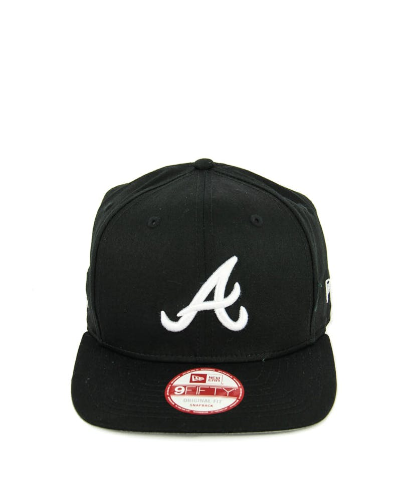 Braves Original Fit Snapback Black/white/whi