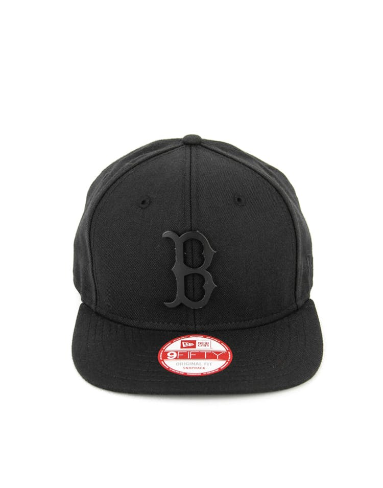 Red Sox Orig.fit Metal Snapback Black/black