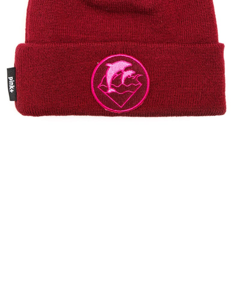 Waves Holiday 13 Beanie Maroon