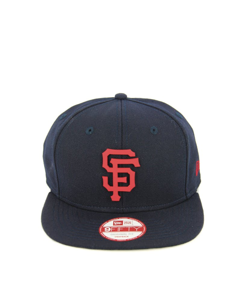 Giants Orig.fit Metal Snapback Nav/r