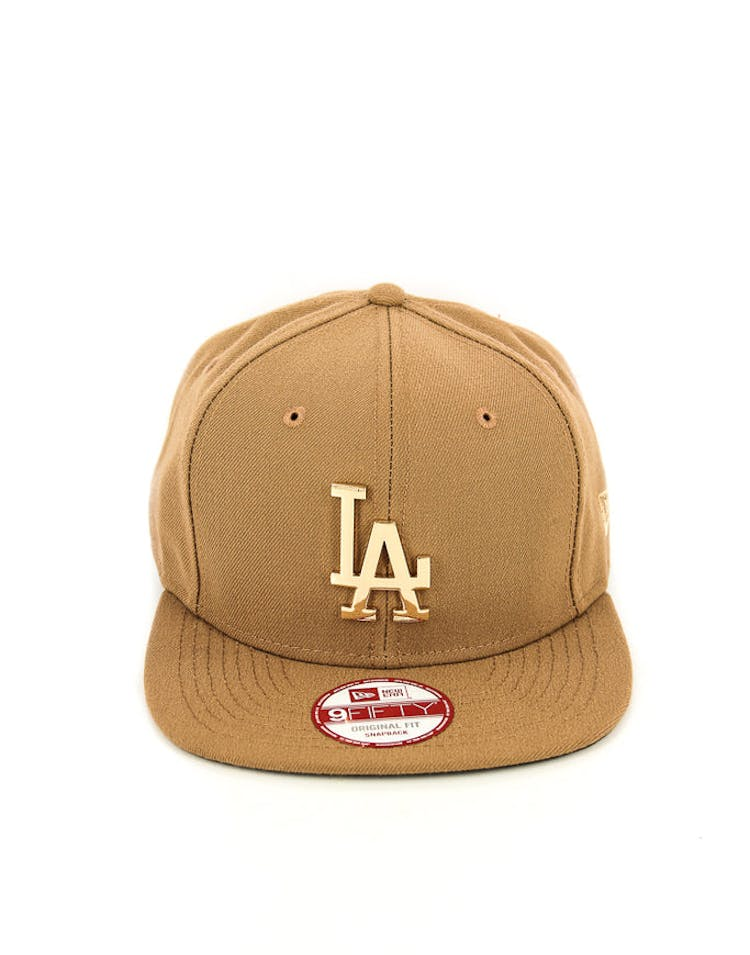 Dodgers Orig.fit Metal Snapback Wheat/gold