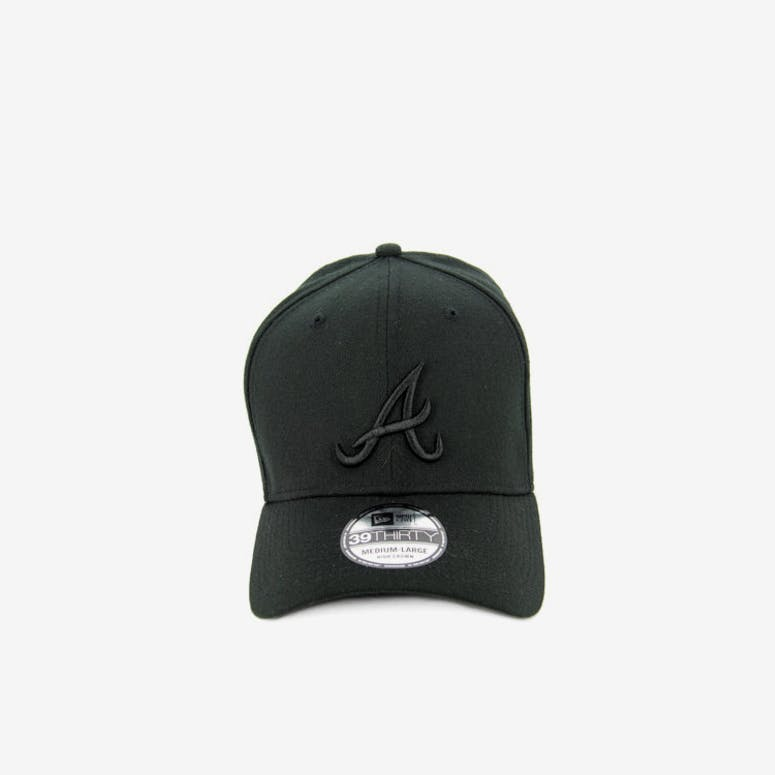 Braves High Crown 3930 Black/black