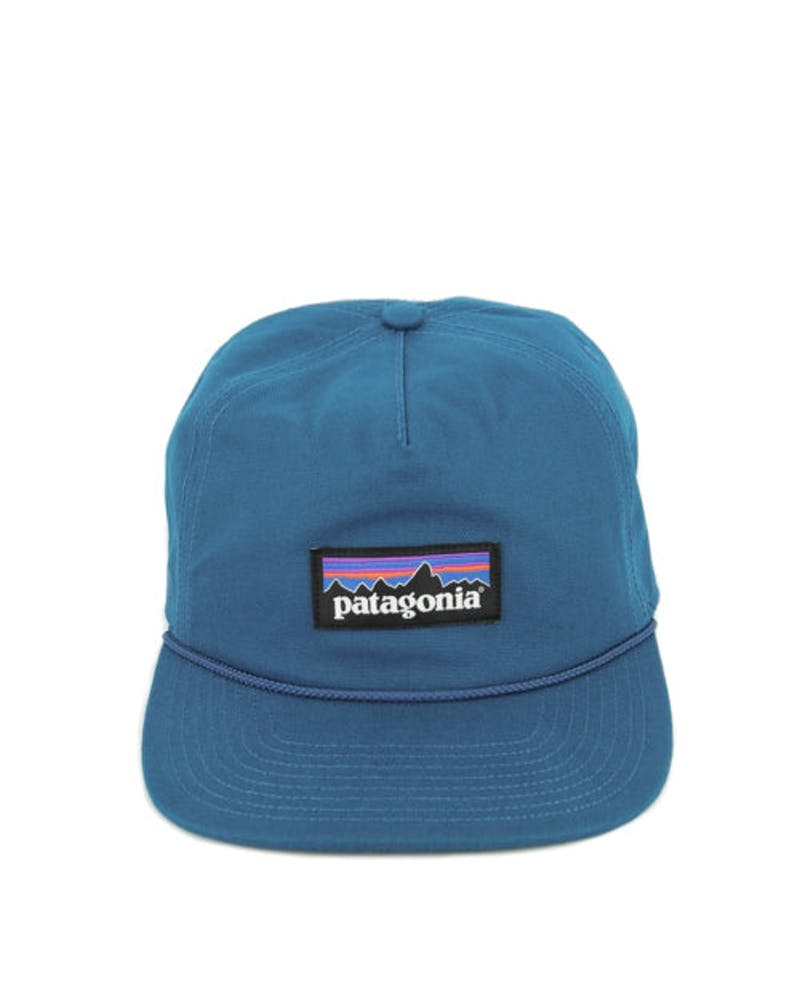 P-label Stand up Snapback Blue