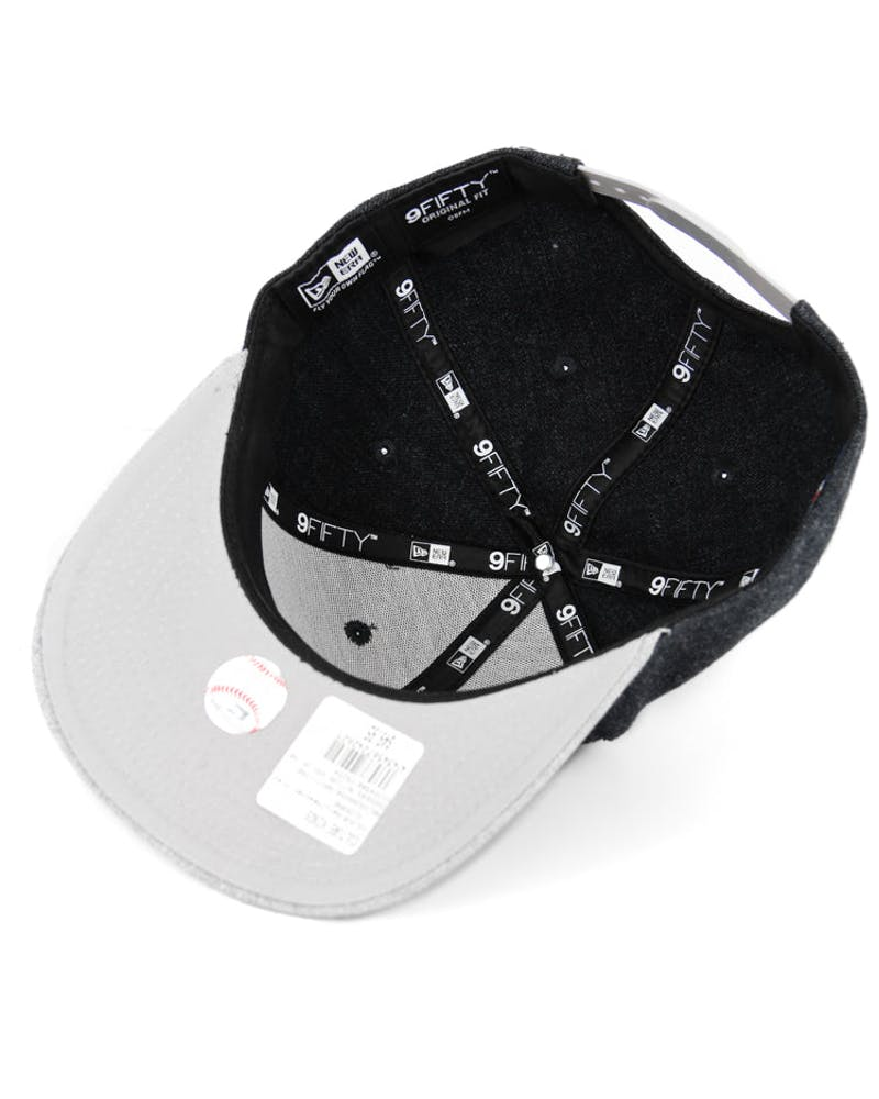 New Era Yankees Action 9FIFTY of Snapback Black/heather G