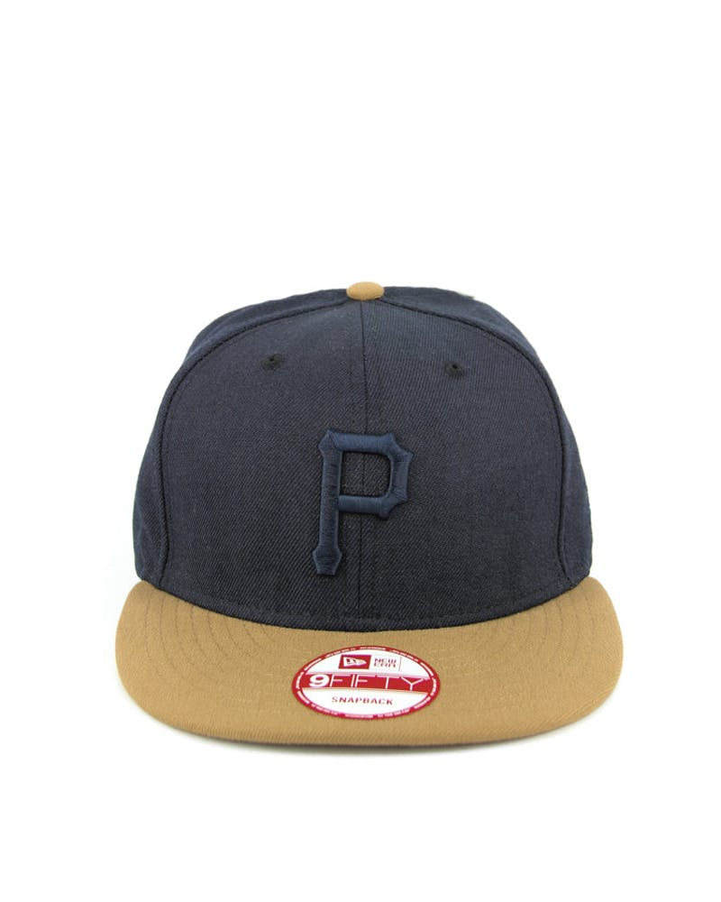 Pittsburgh Pirates Snap Navy/wheat