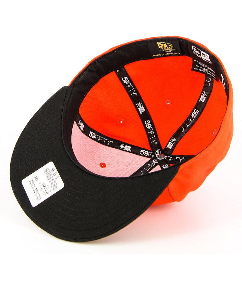West Tigers Fashion Fitted Orange/black