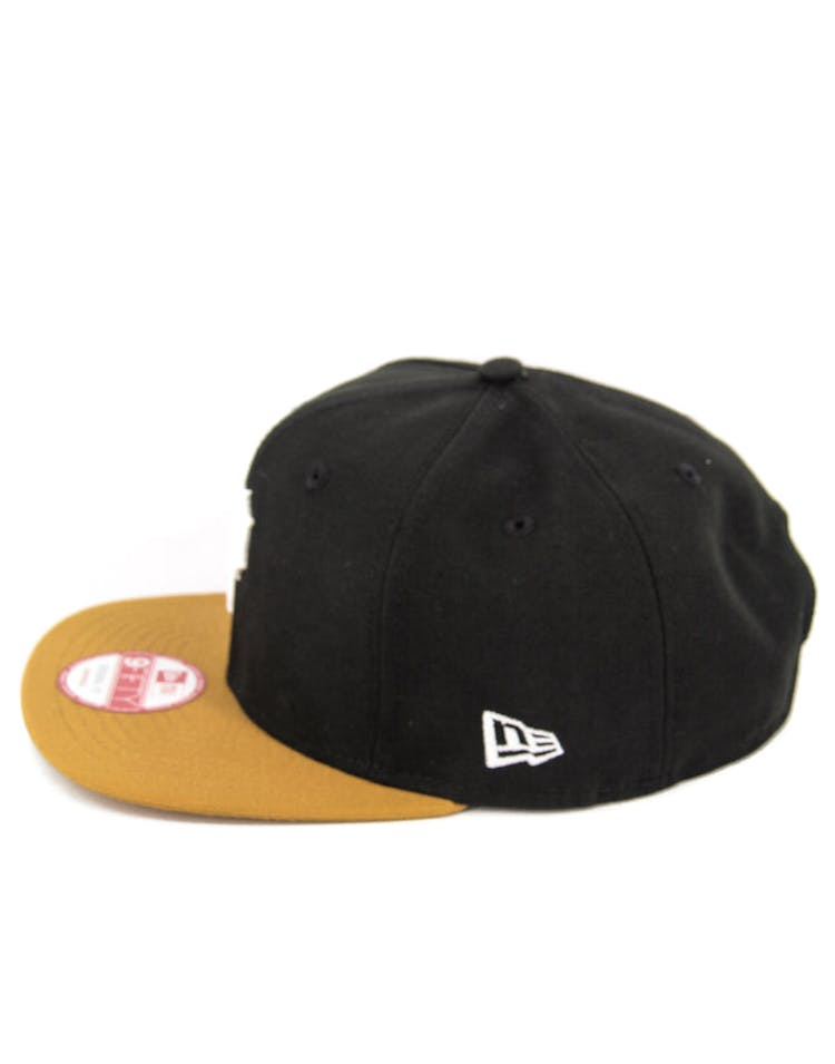 Pirates Original Fit Snapback Black/tan/white