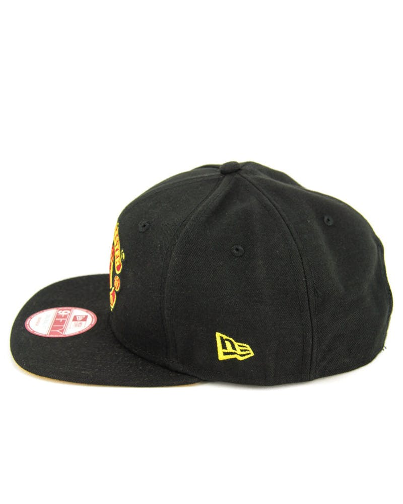 Manchester United Orig.fit Snapback Black/yellow