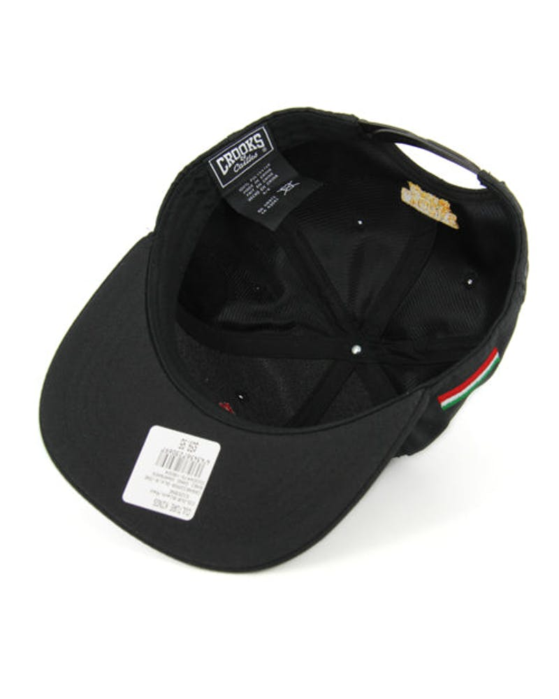 Rari Gang Snapback Black/red