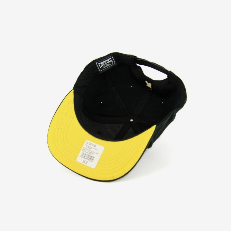 Chain C Snapback Black/gold