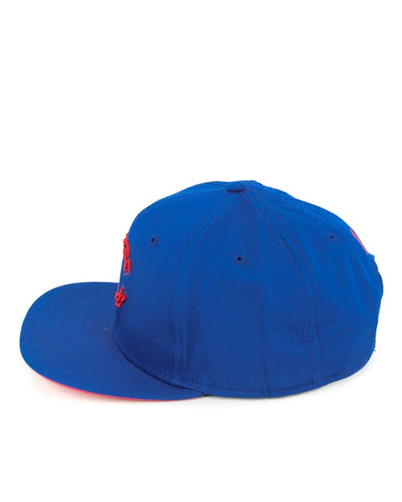 Chain C Snapback Royal/red